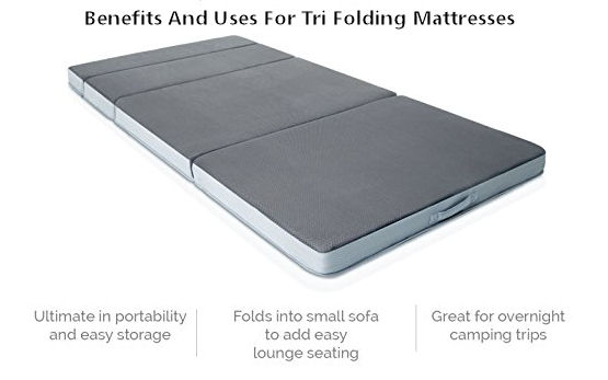 benefits of tri folding mattresses and their uses